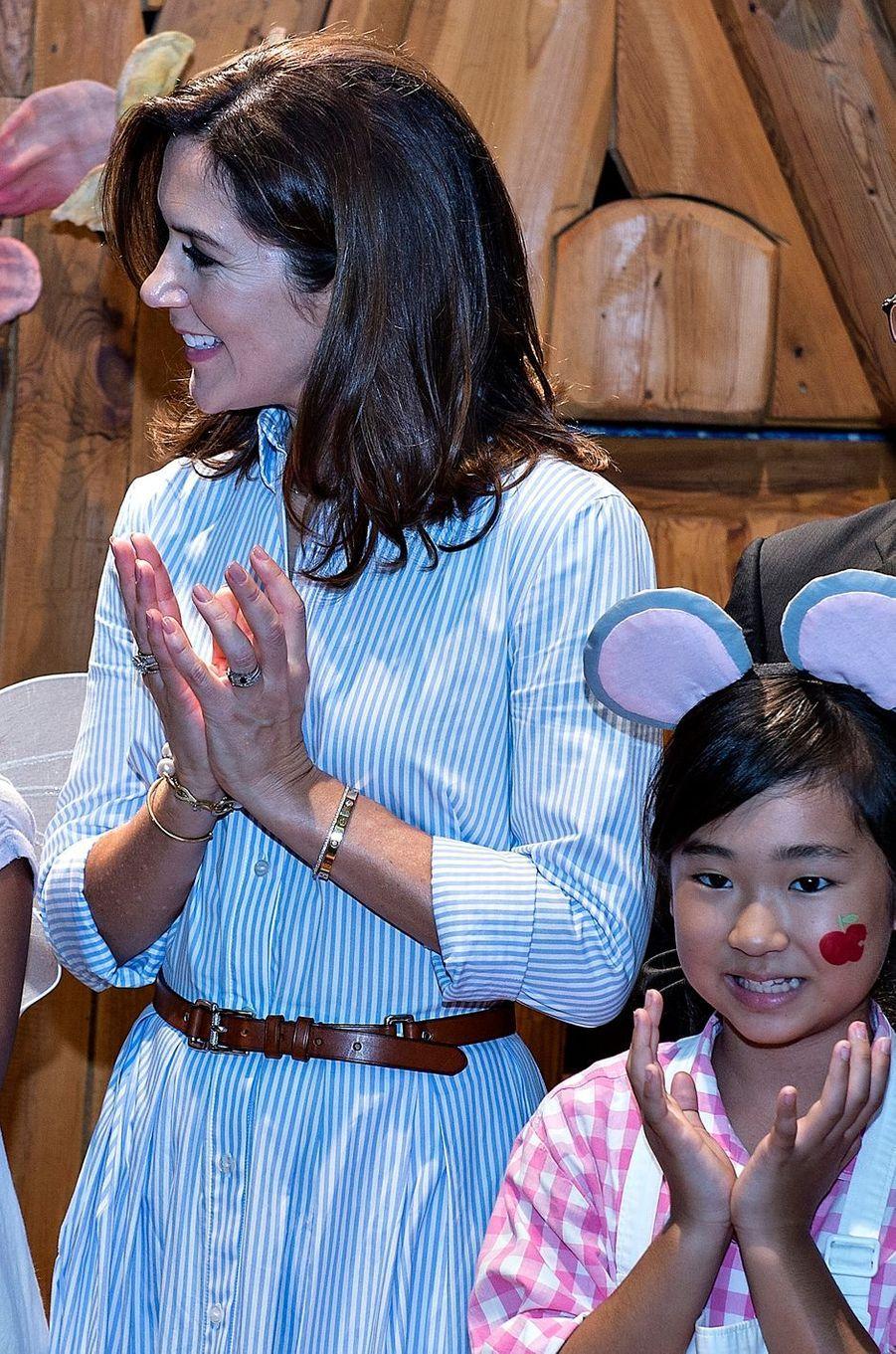 La princesse Mary de Danemark au Japon, le 10 octobre 2017