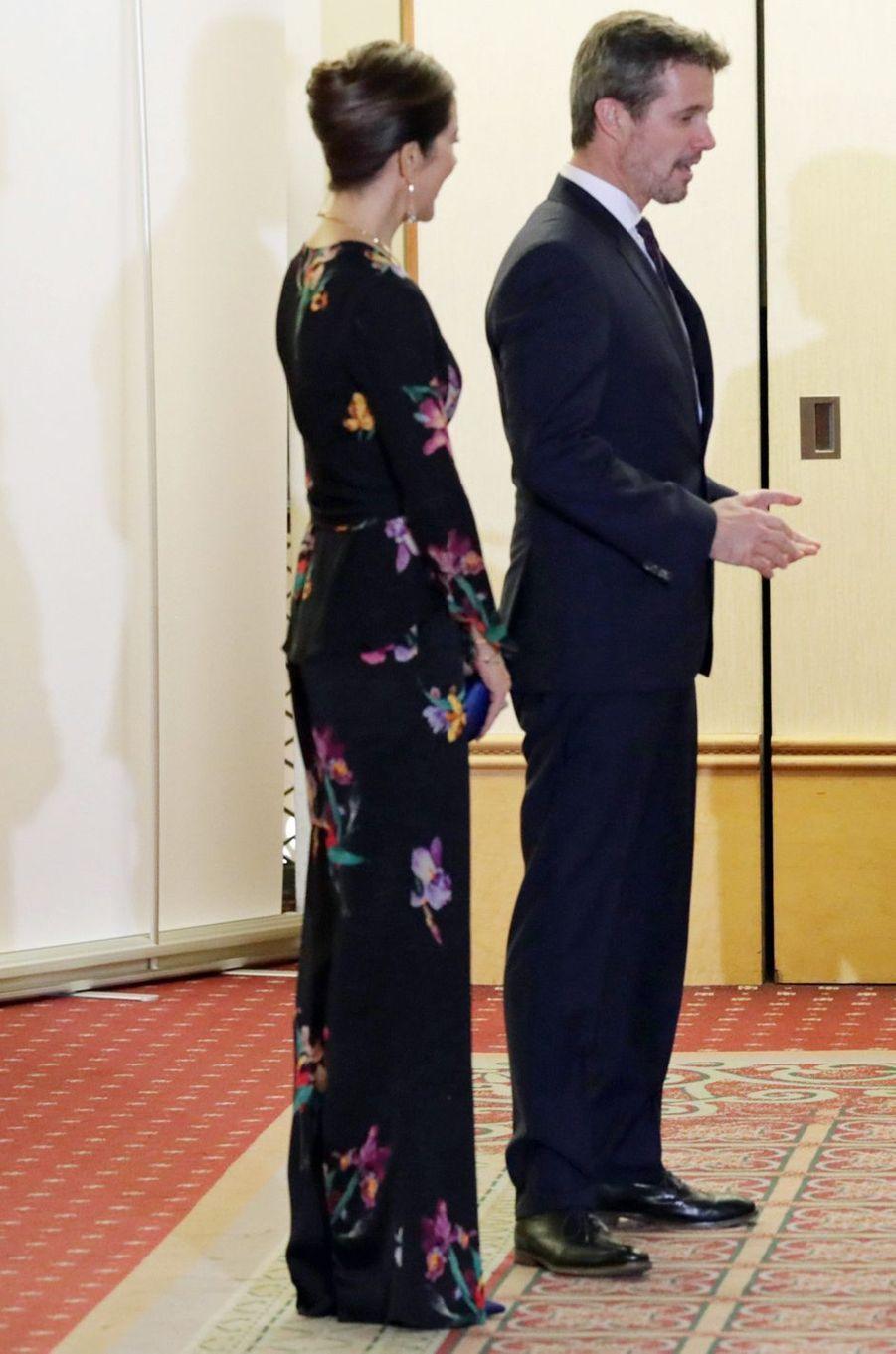 La princesse Mary de Danemark au Japon, le 12 octobre 2017