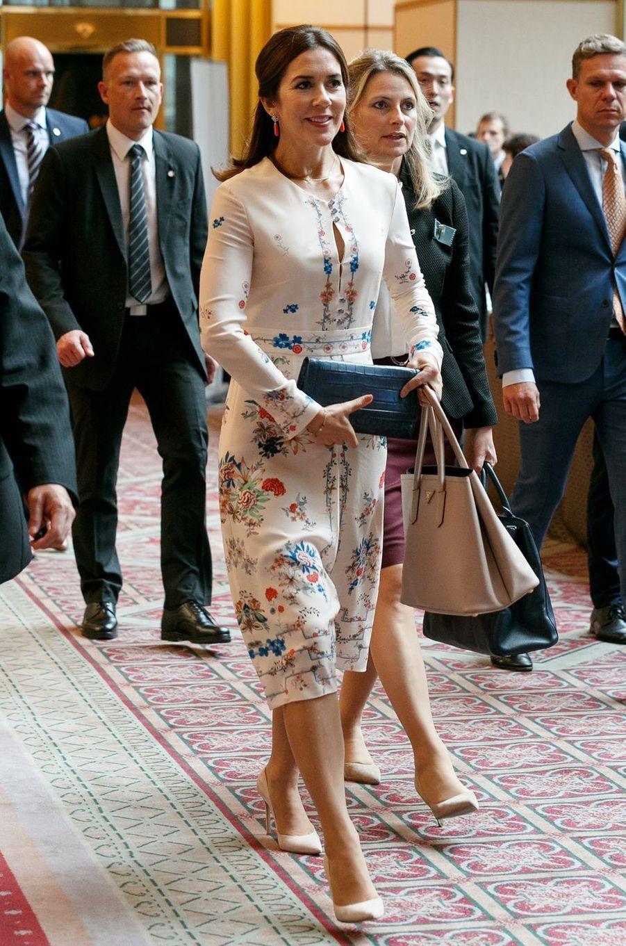 La princesse Mary de Danemark au Japon, le 11 octobre 2017
