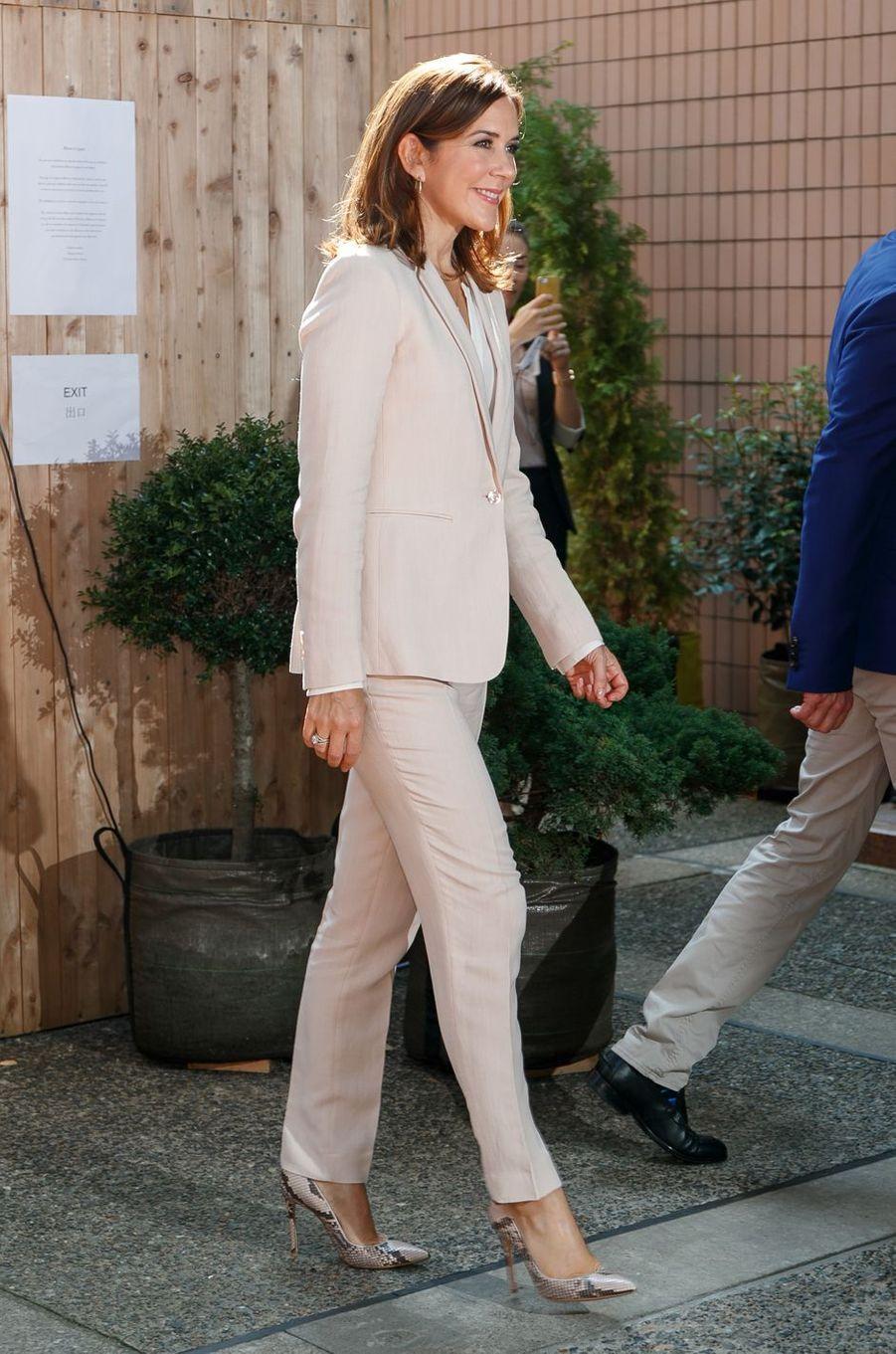 La princesse Mary de Danemark à Tokyo, le 12 octobre 2017