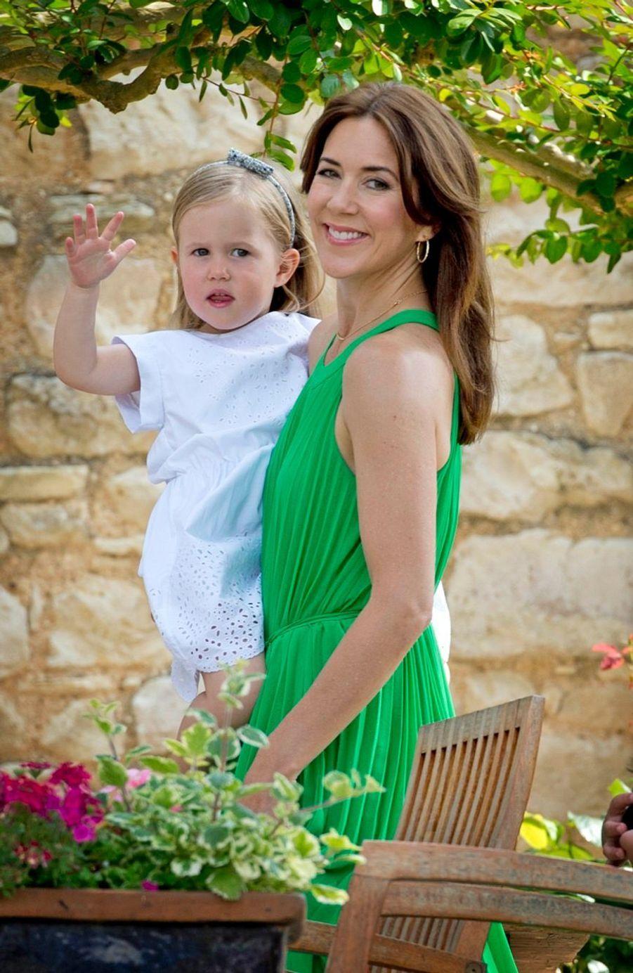 La princesse Joséphine en juin 2014