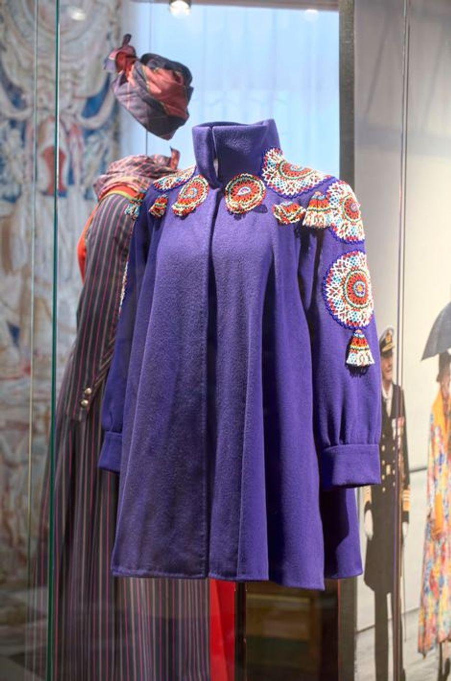Exposition consacrée à la garde-robe de la reine Margrethe II à Hillerod, le 25 mars 2015