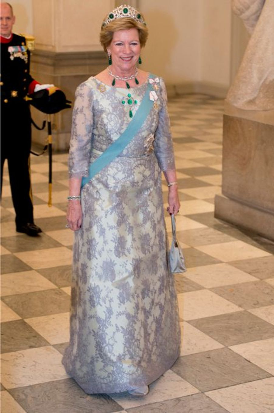 L'ex-reine de Grèce Anne-Marie de Danemark à Copenhague, le 15 avril 2015