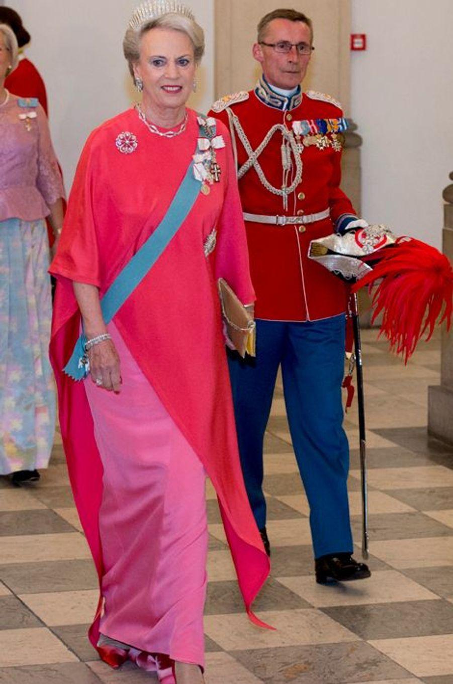 La princesse Benedickte de Danemark à Copenhague, le 15 avril 2015