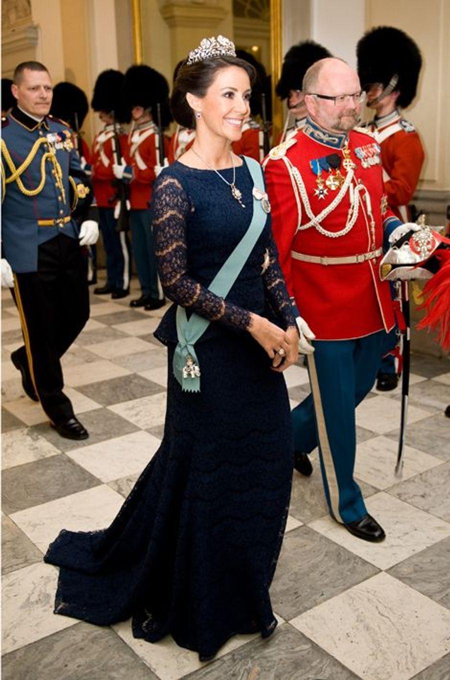 La princesse Marie de Danemark à Copenhague, le 15 avril 2015