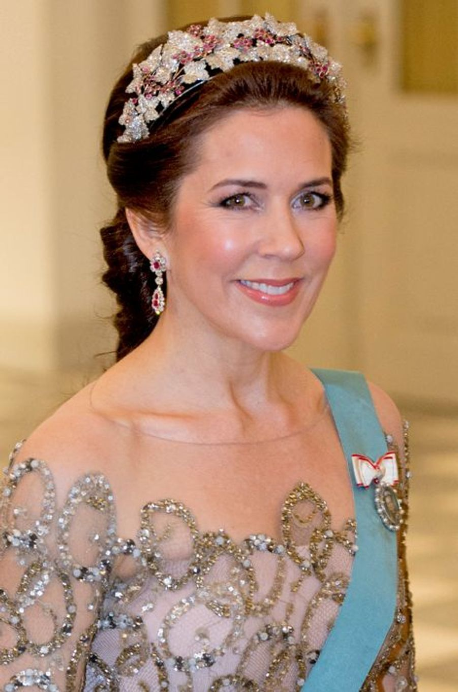 La princesse Mary de Danemark à Copenhague, le 15 avril 2015