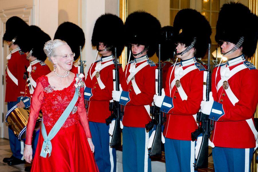 La reine Margrethe II de Danemark à Copenhague, le 15 avril 2015
