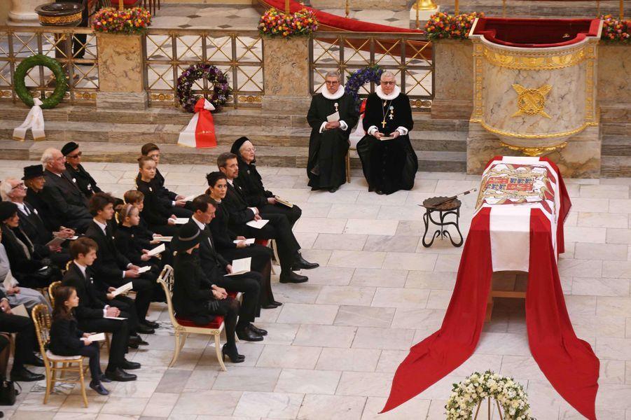 Obsèques du prince Henrik de Danemark à Copenhague, le 20 février 2018