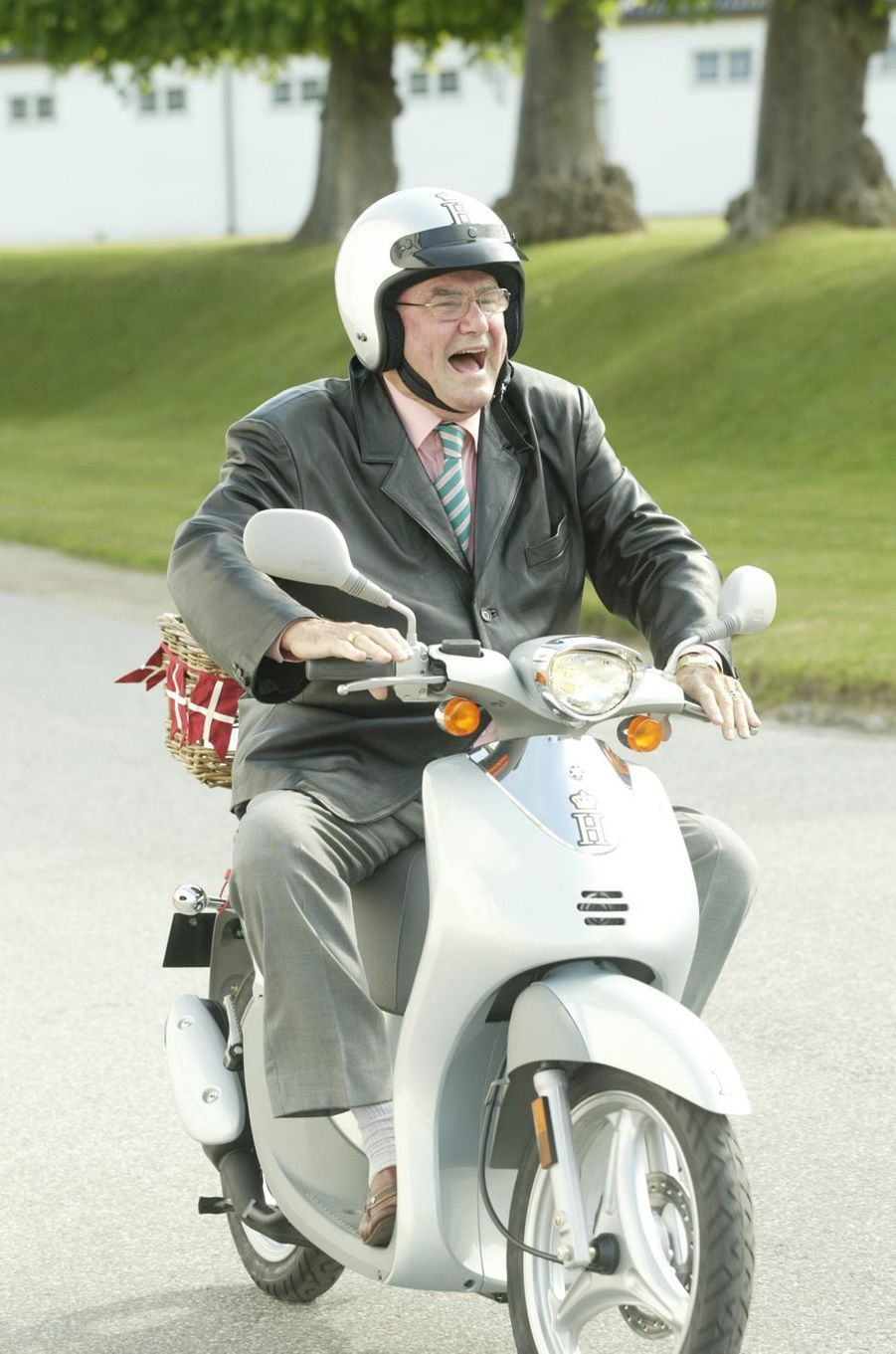 Le prince Henrik de Danemark, le 11 juin 2004
