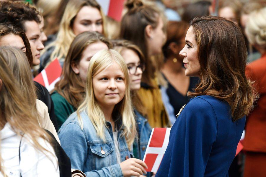 La princesse Mary de Danemark à Copenhague, le 29 août 2018