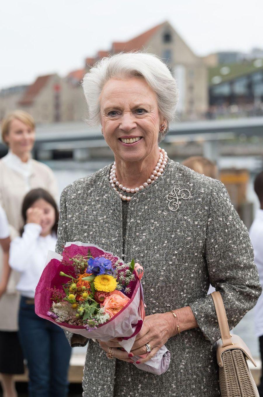 La princesse Benedikte de Danemark à Copenhague, le 29 août 2018