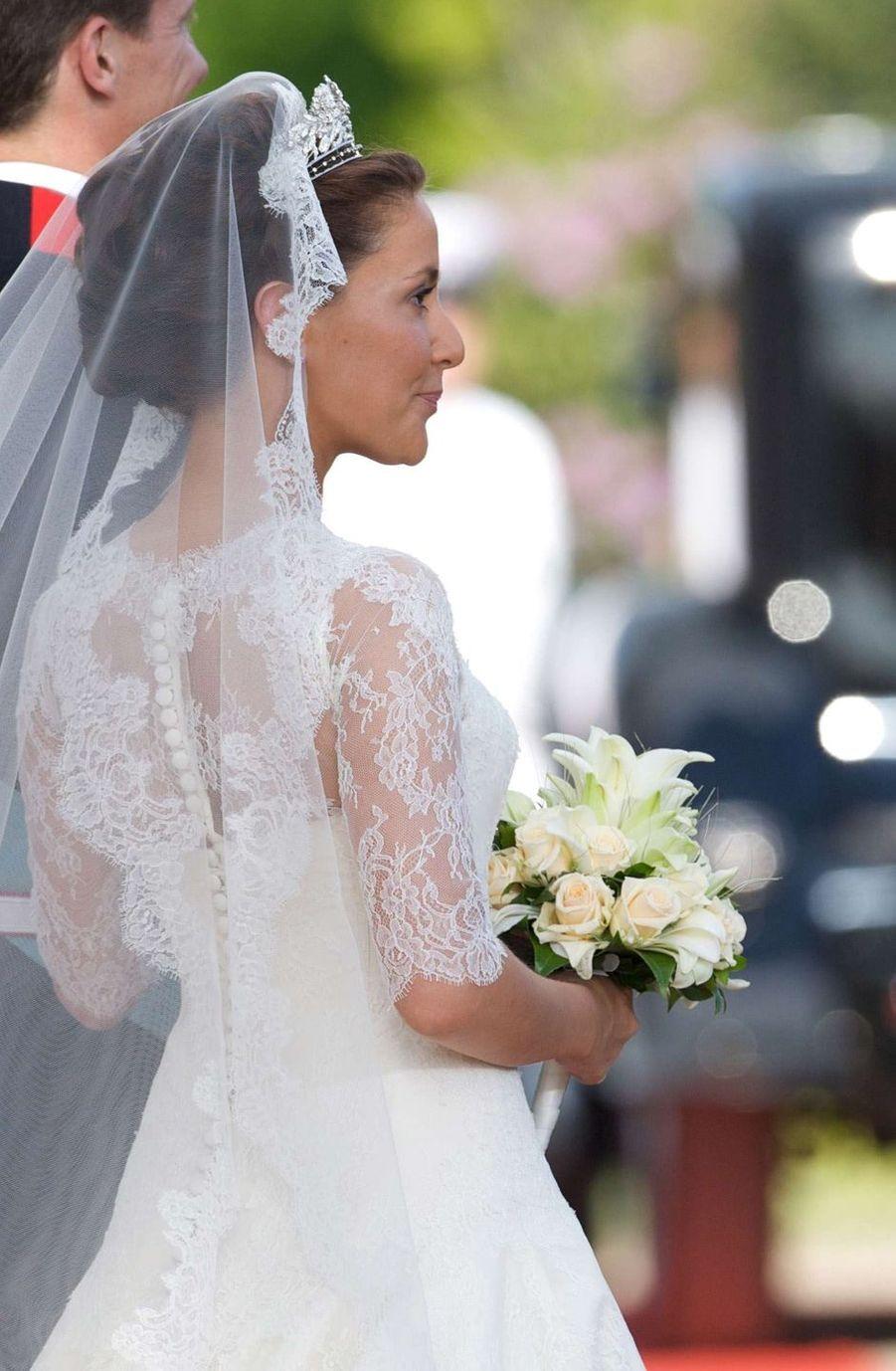 La princesse Marie de Danemark le 24 mai 2008, jour de son mariage
