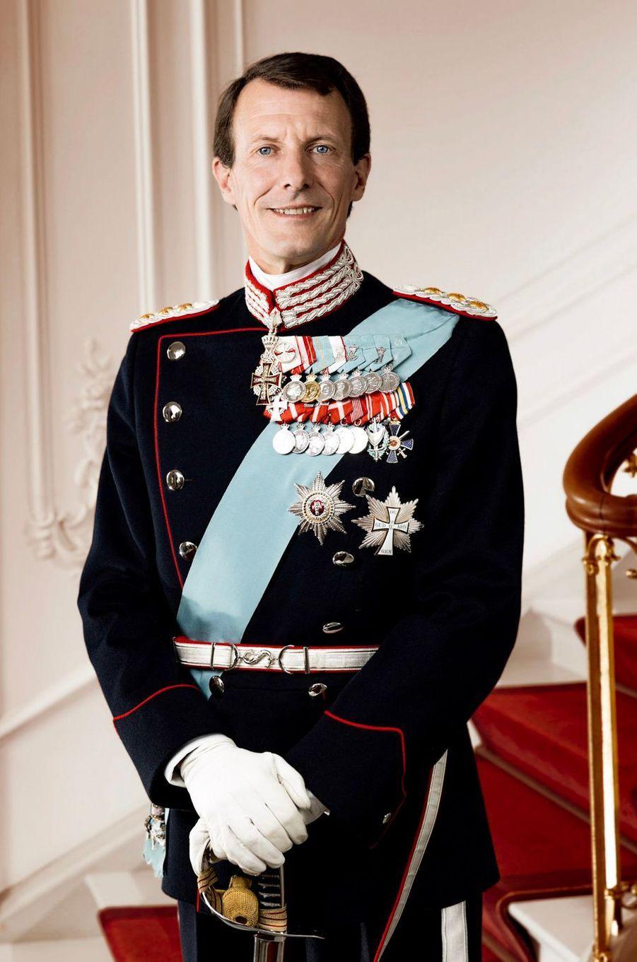 Nouveau portrait officiel du prince Joachim de Danemark, diffusé le 1er juillet 2019