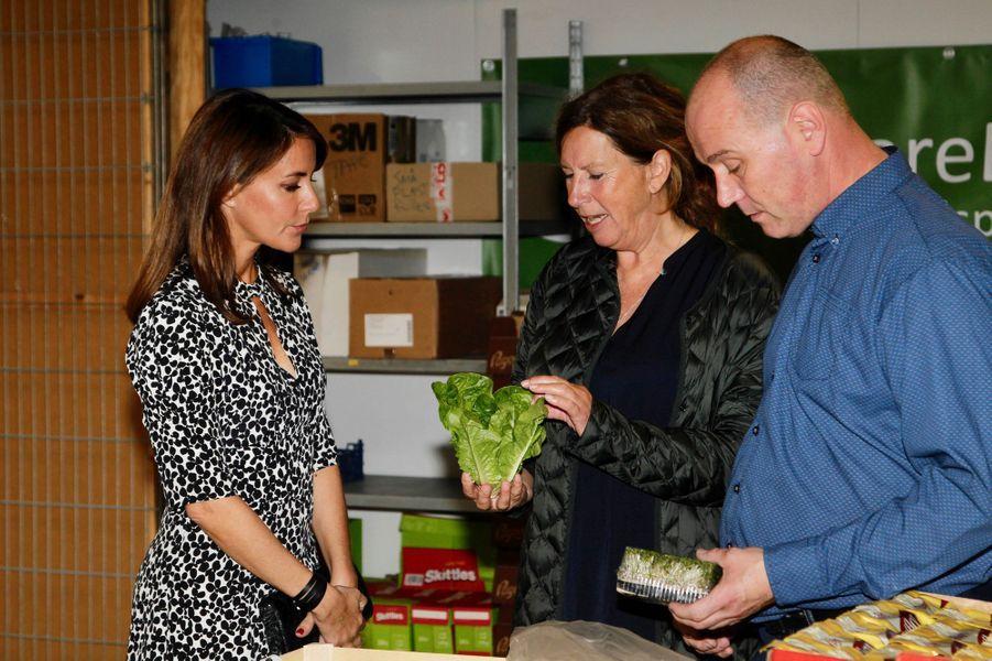 La princesse Marie de Danemark à Copenhague, le 18 septembre 2018