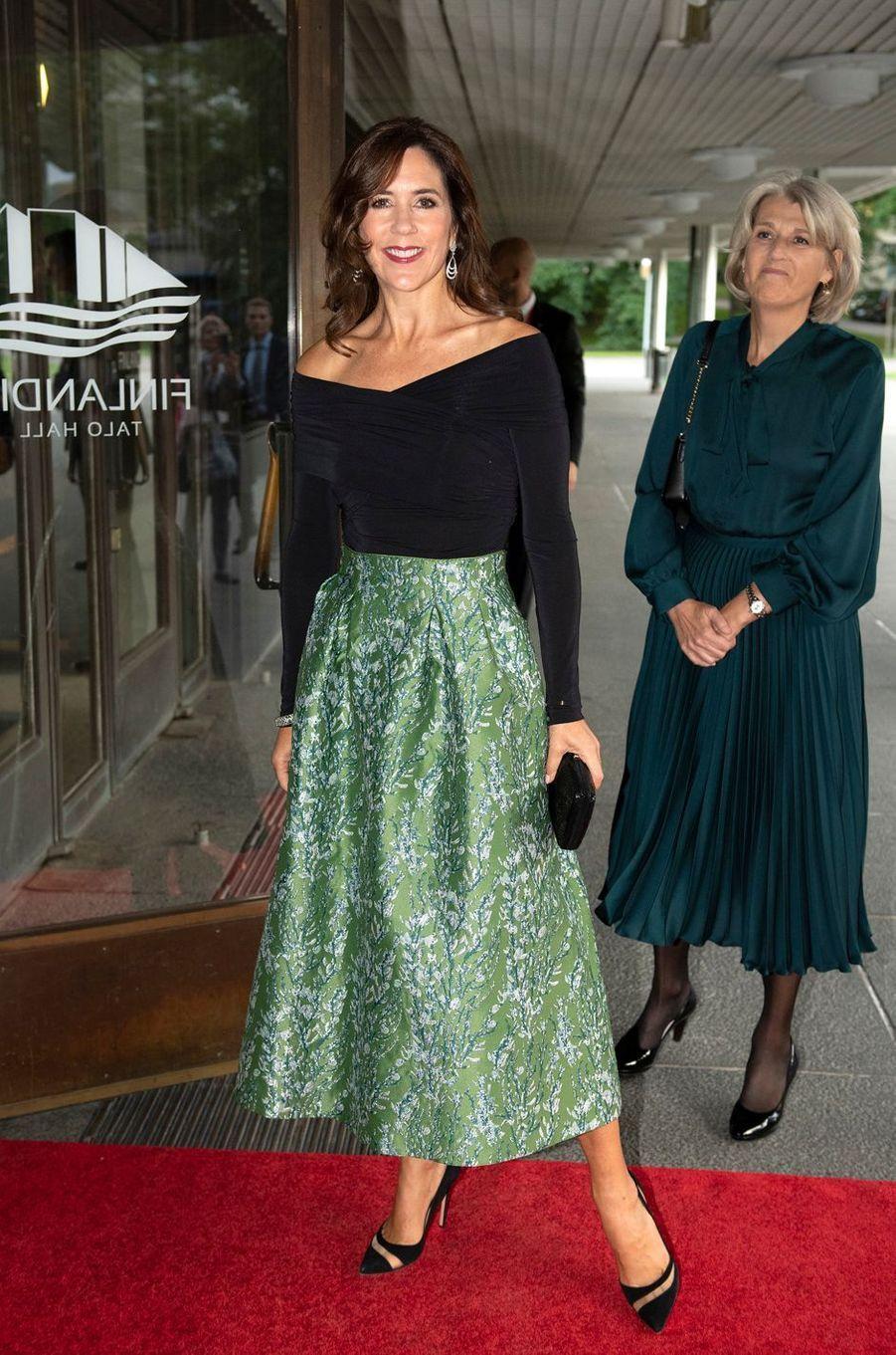 La princesse Mary de Danemark à la réception du centenaire des relations Danemark-Finlande à Helsinki, le 13 septembre 2018
