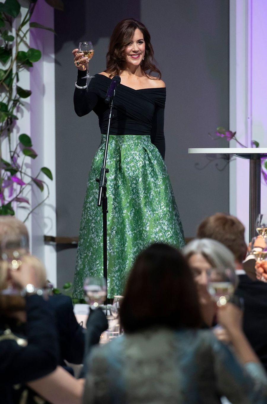 La princesse Mary de Danemark à Helsinki le 13 septembre 2018