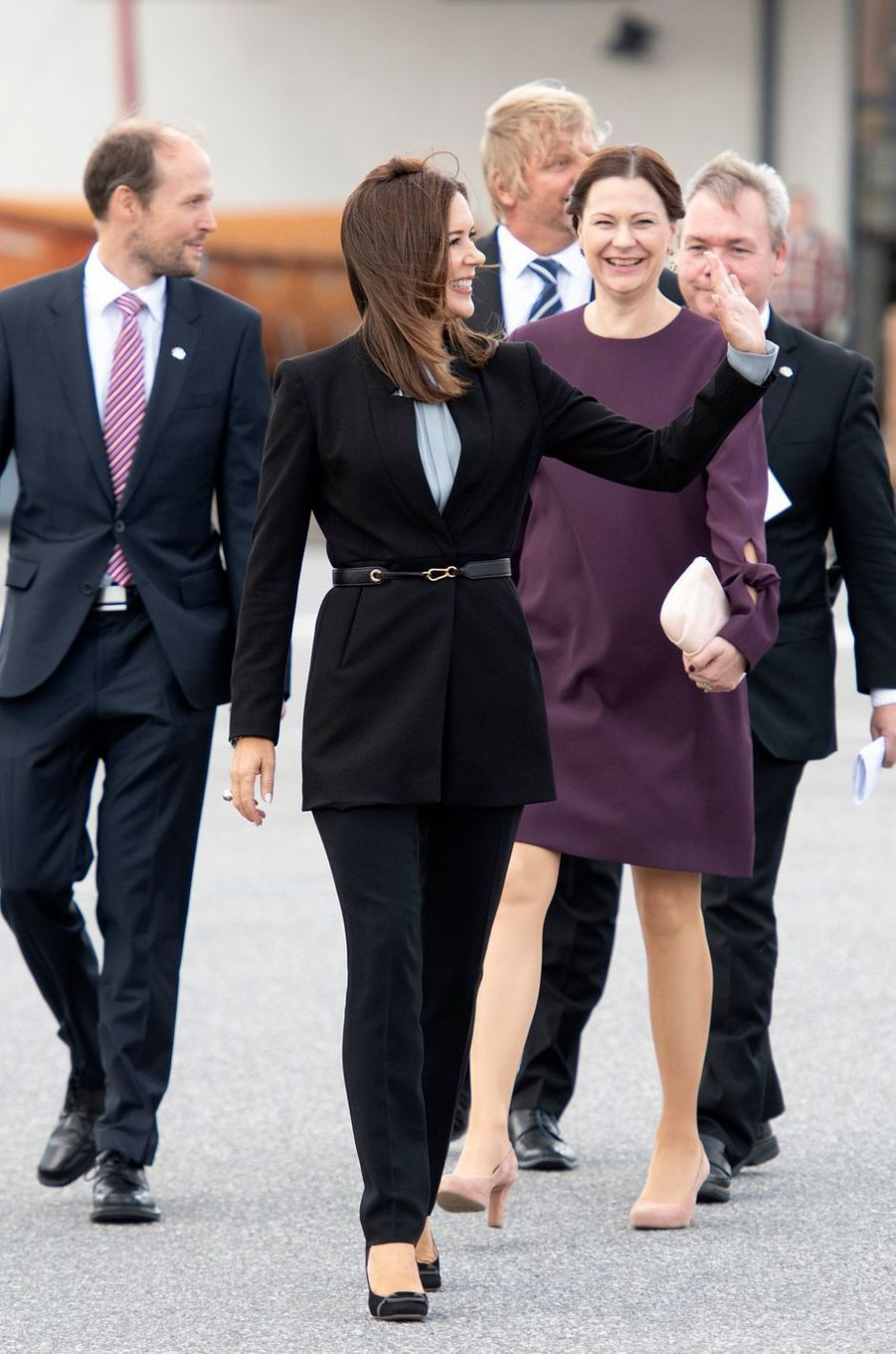 La princesse Mary de Danemark à Turku, le 14 septembre 2018