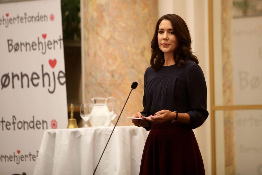 La princesse Mary de Danemark à Copenhague, le 11 janvier 2016