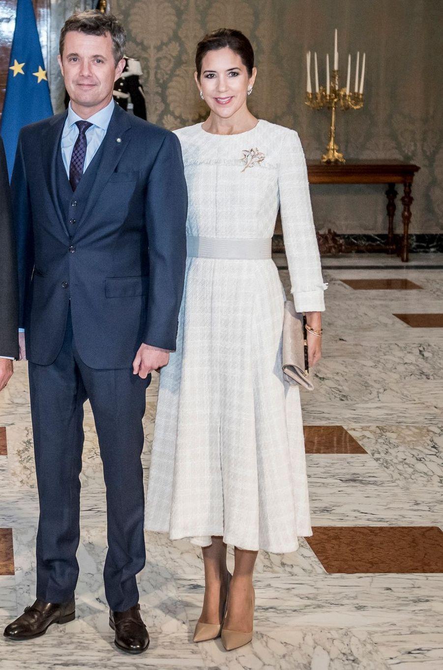 La princesse Mary de Danemark à Rome, le 6 novembre 2018