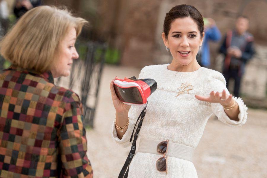 La princesse Mary de Danemark, le 6 novembre 2018 à Rome