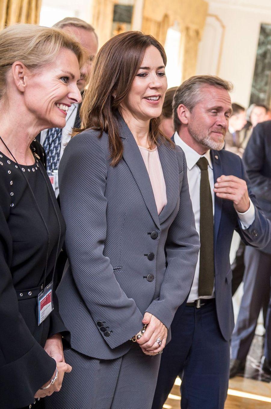La princesse Mary de Danemark à Rome, le 7 novembre 2018