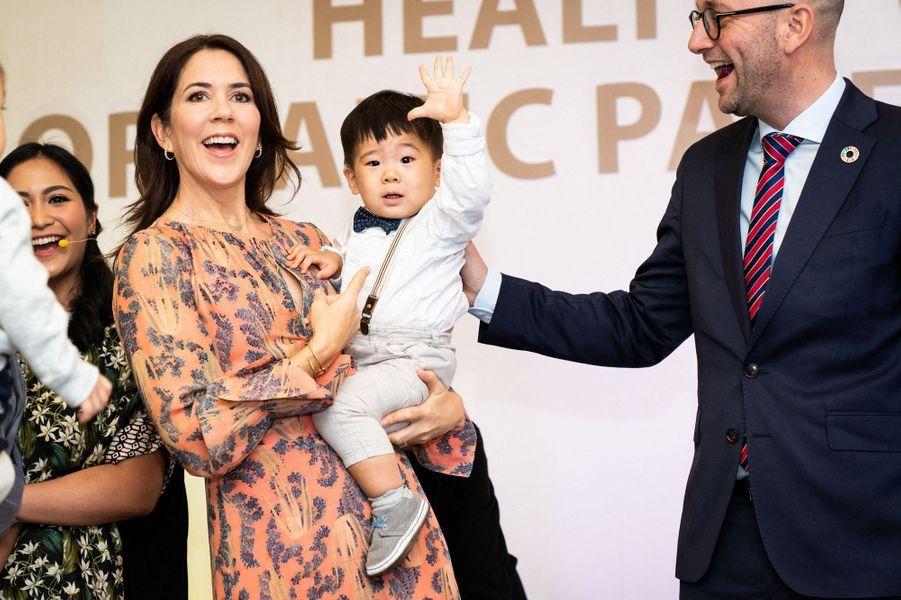 La princesse Mary de Danemark, le 2 décembre 2019 à Jakarta en Indonésie