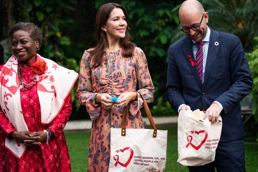 La princesse Mary de Danemark à Jakarta en Indonésie, le 2 décembre 2019