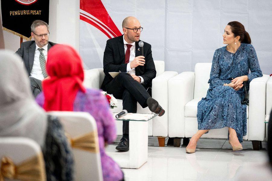 La princesse Mary de Danemark à Jakarta, le 3 décembre 2019