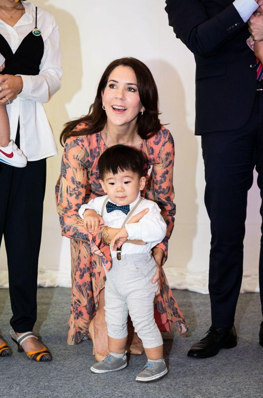 La princesse Mary de Danemark à Jakarta, le 2 décembre 2019