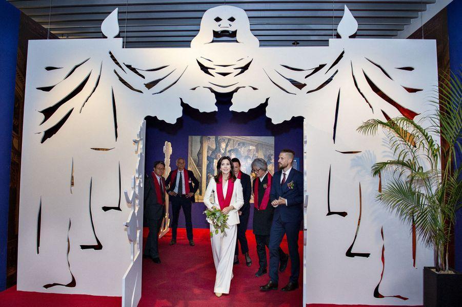 La princesse Mary de Danemark en Corée du Sud, le 21 mai 2019