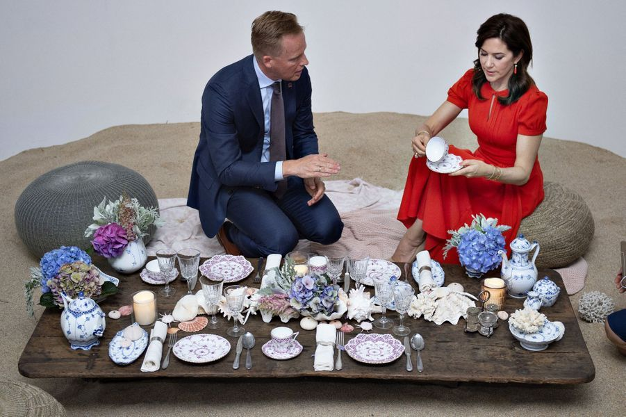 La princesse Mary de Danemark en Corée du Sud, le 22 mai 2019