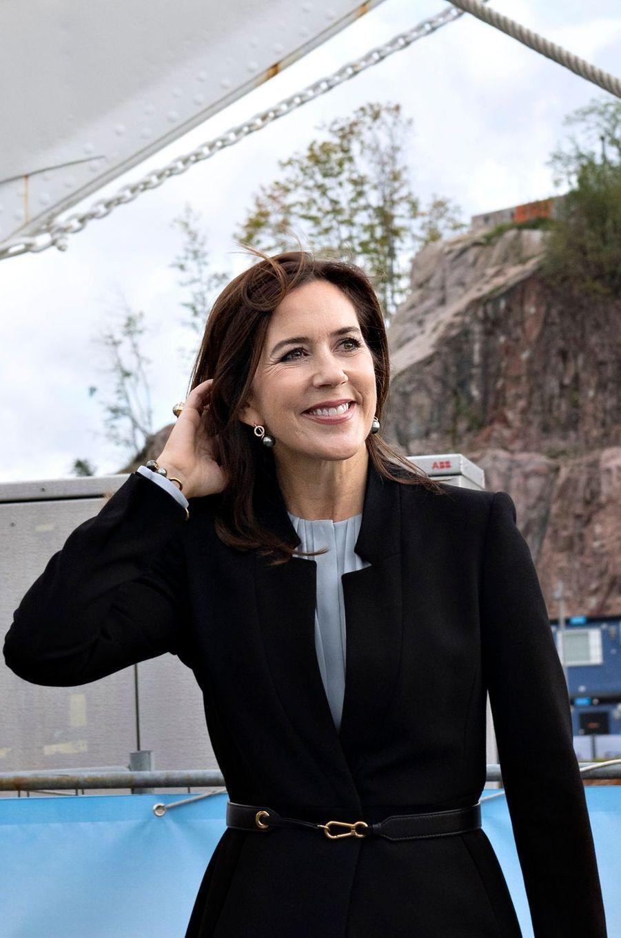 La princesse Mary de Danemark à Turku, le 14 septembre 2018