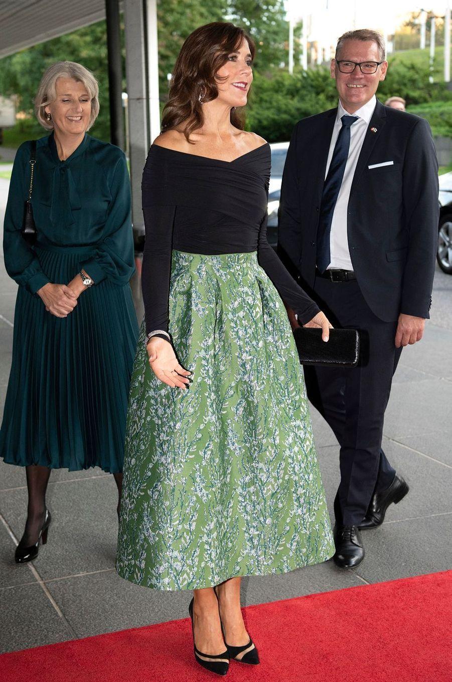 La princesse Mary de Danemark à Helsinki, le 13 septembre 2018