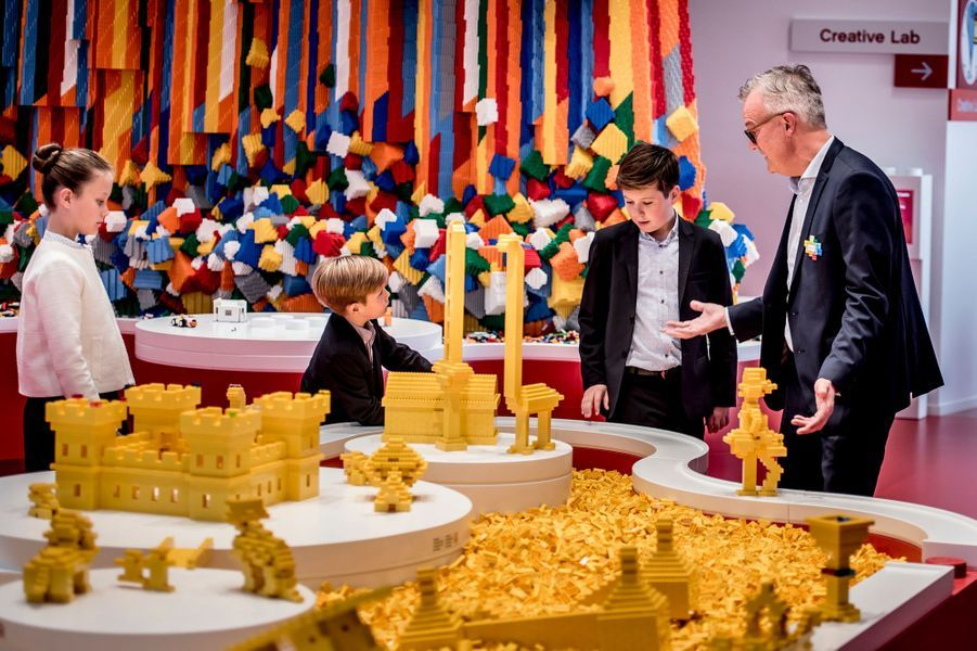 La princesse Isabella et les princes Vincent et Christian de Danemark à Billund, le 28 septembre 2017