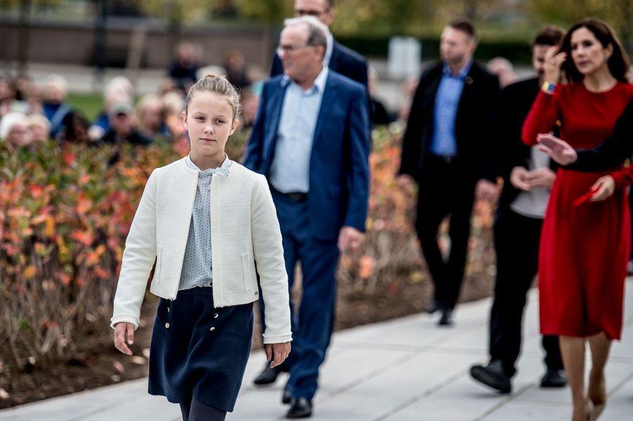 La princesse Isabella de Danemark à Billund, le 28 septembre 2017