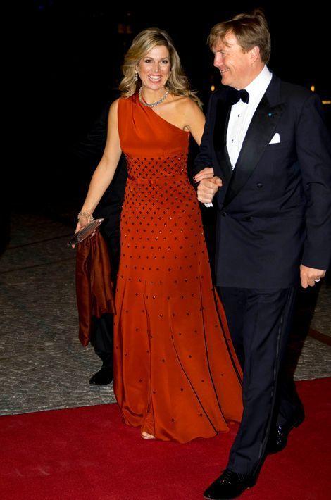 La reine Maxima et le roi Willem-Alexander des Pays-Bas à Copenhague, le 18 mars 2015