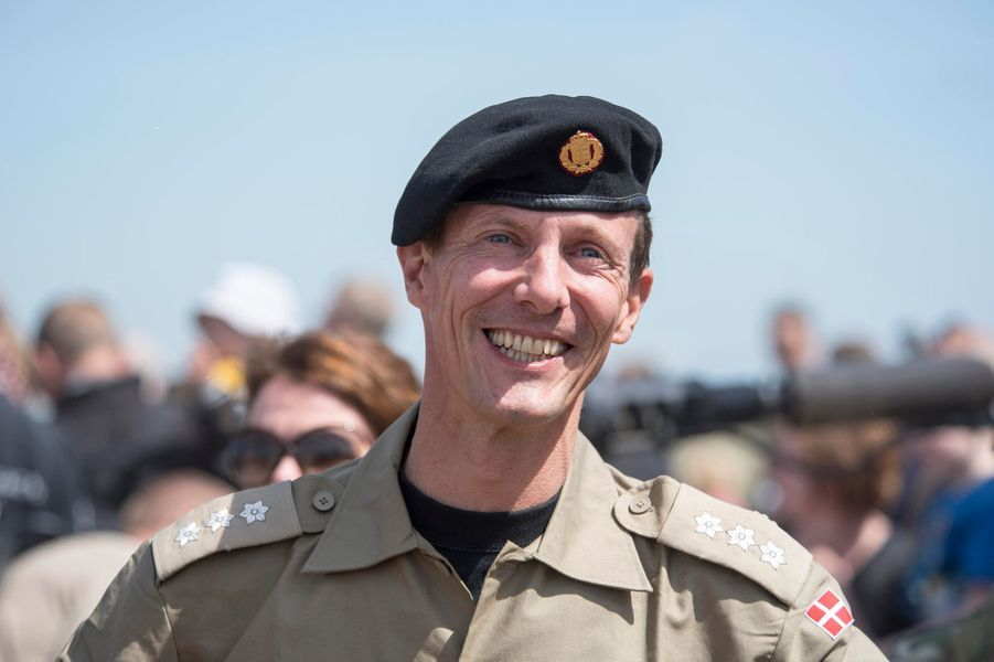 Le prince Joachim de Danemark à Oksbol, le 28 juin 2015