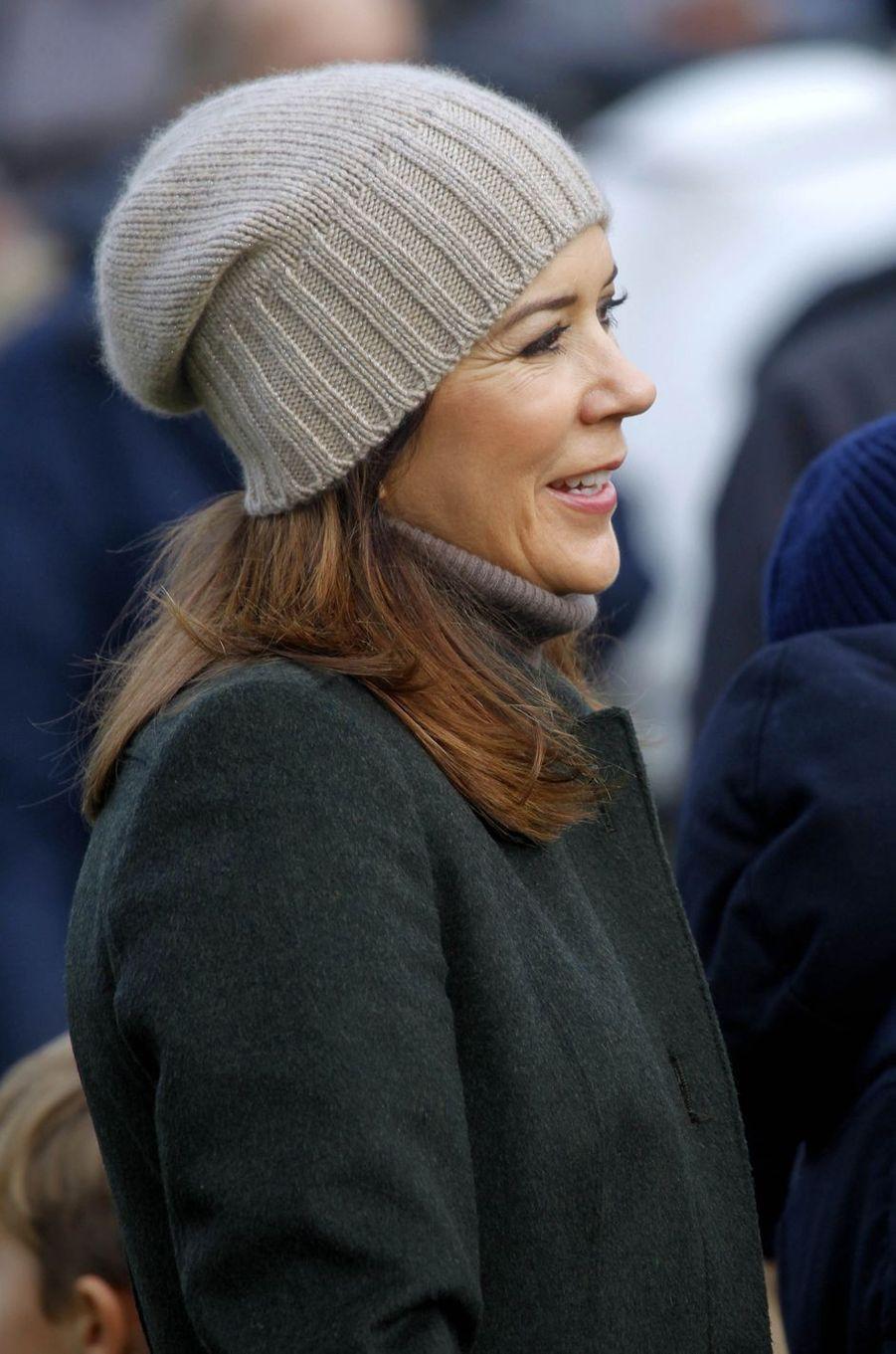 La princesse Mary de Danemark à Klampenborg, le 5 novembre 2017