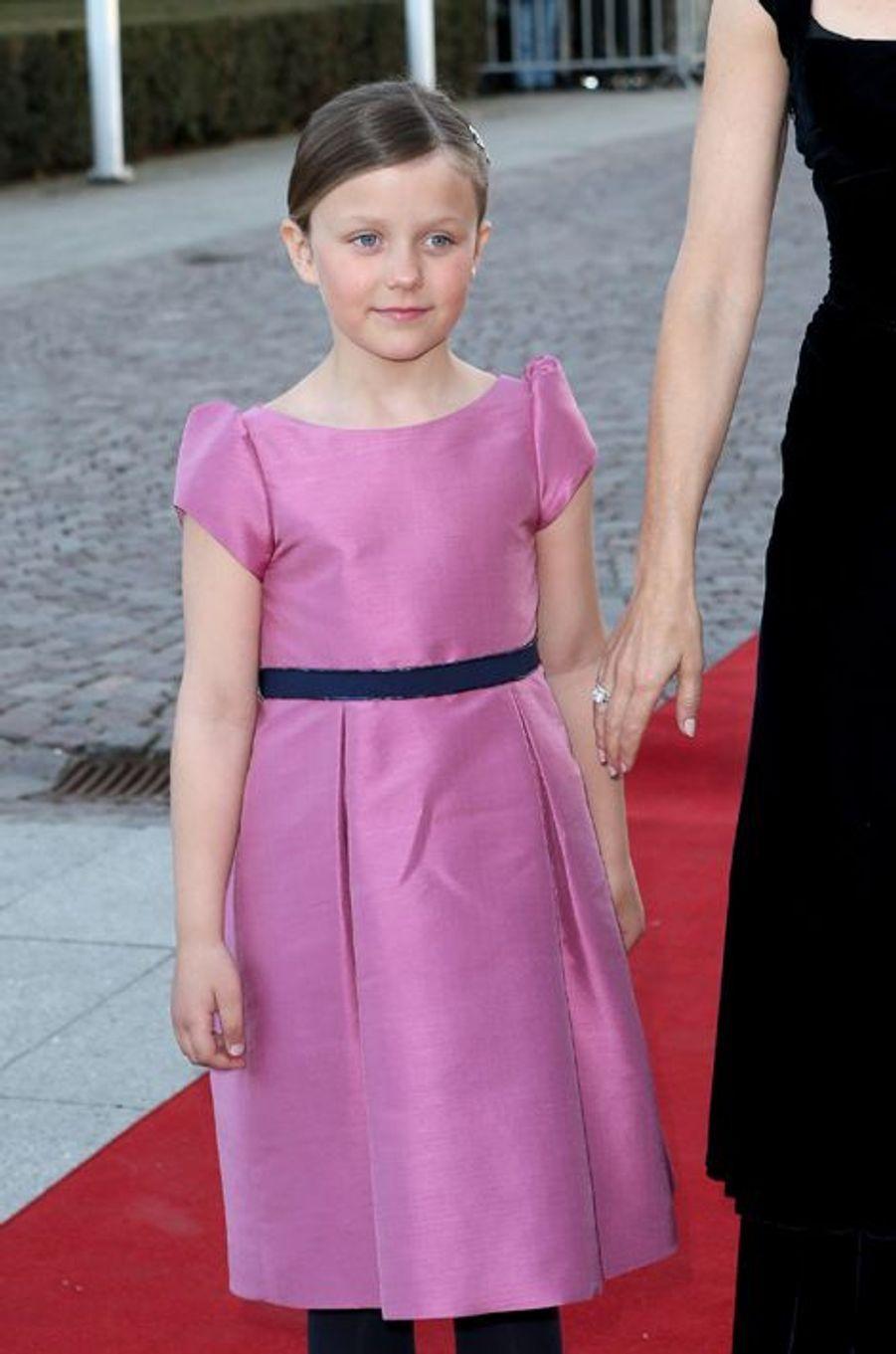 La princesse Isabella de Danemark à Aarhus, le 8 avril 2015