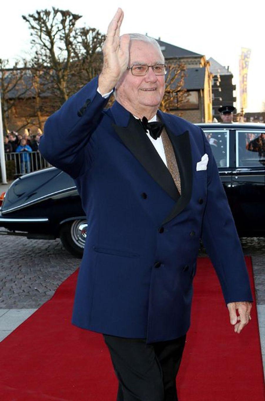 Le prince consort Henrik de Danemark à Aarhus, le 8 avril 2015