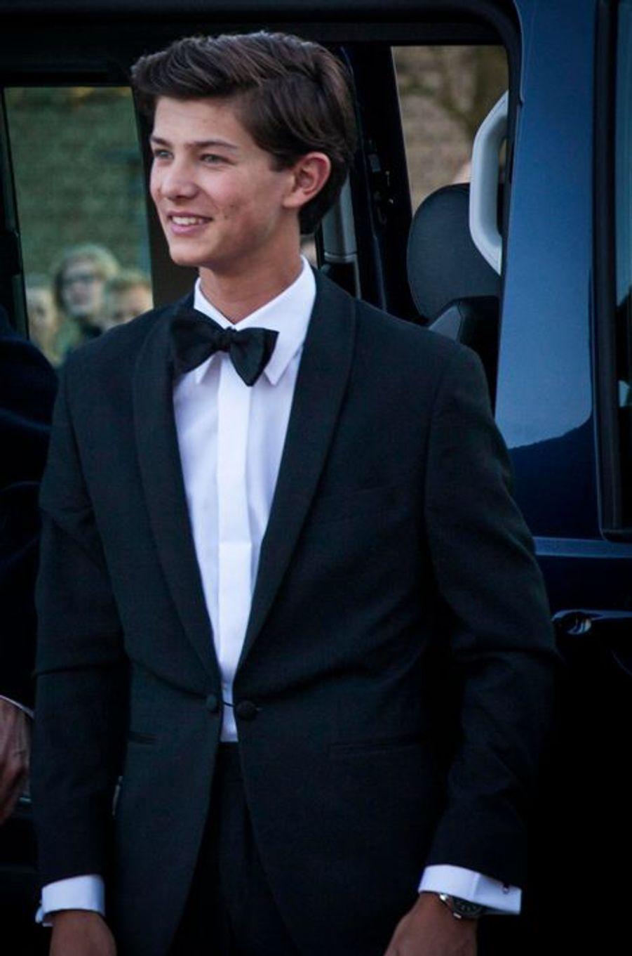 Le prince Nicolai de Danemark à Aarhus, le 8 avril 2015
