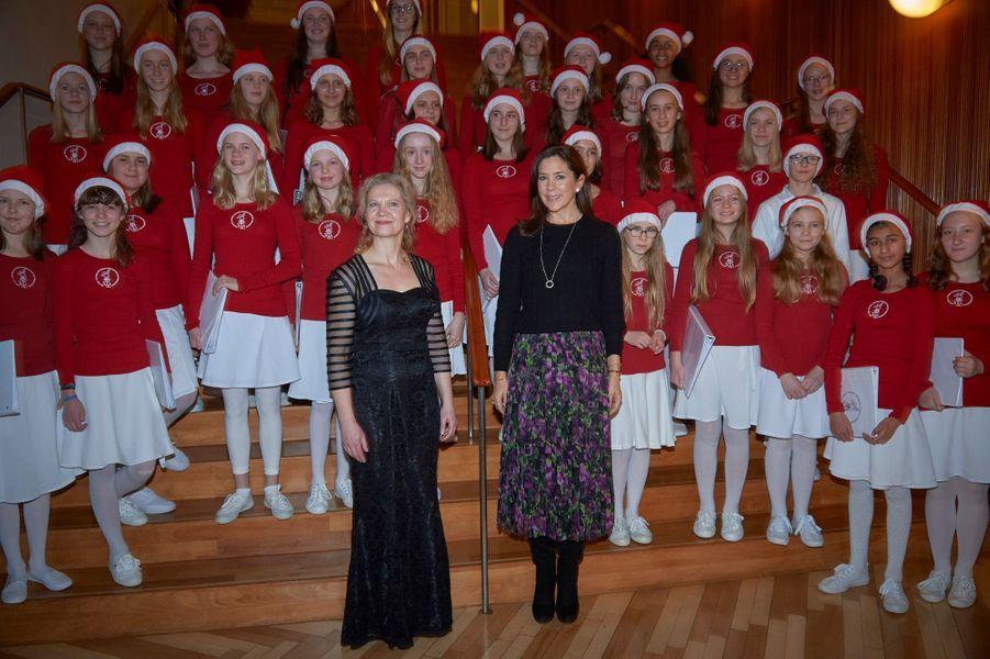 La princesse Mary de Danemark à Copenhague, le 8 décembre 2018