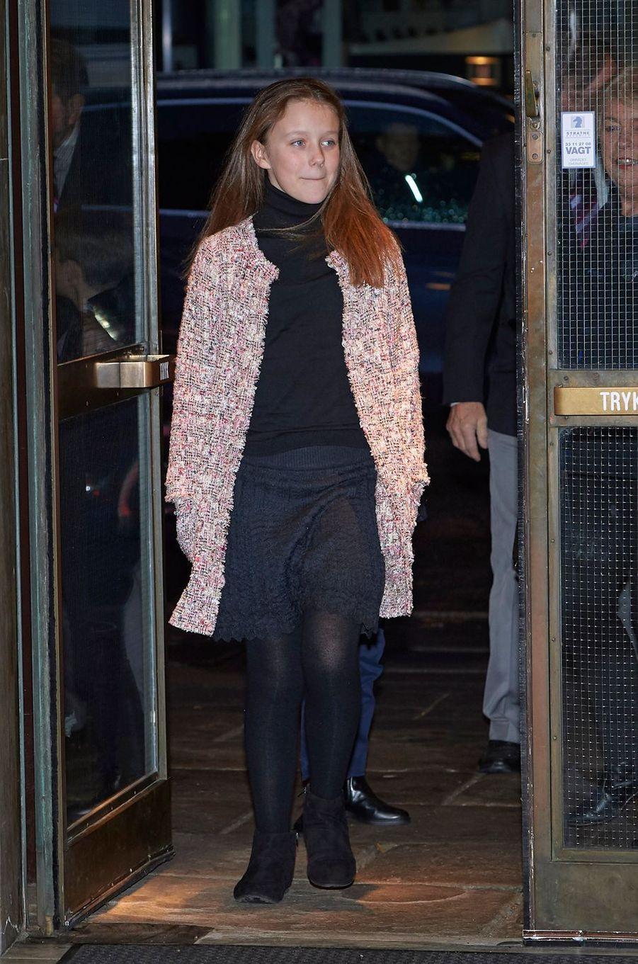 La princesse Isabella de Danemark à Copenhague, le 8 décembre 2018