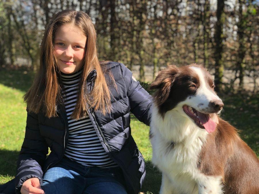 La princesse Isabella de Danemark. L'un des portraits diffusés le 21 avril 2019 pour ses 12 ans