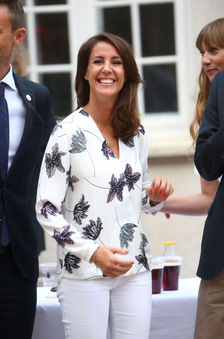 La princesse Marie de Danemark à Copenhague, le 22 août 2016