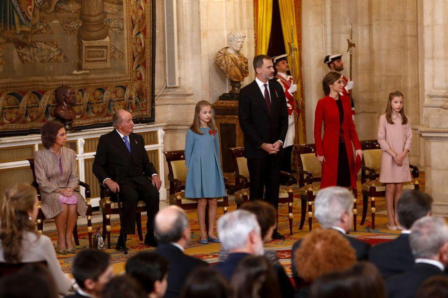 La princesse Leonor d'Espagne, le 30 janvier 2018