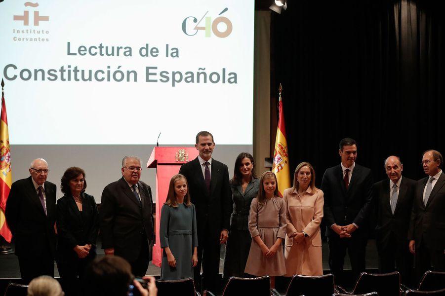La princesse Leonor d'Espagne, le 31 octobre 2018