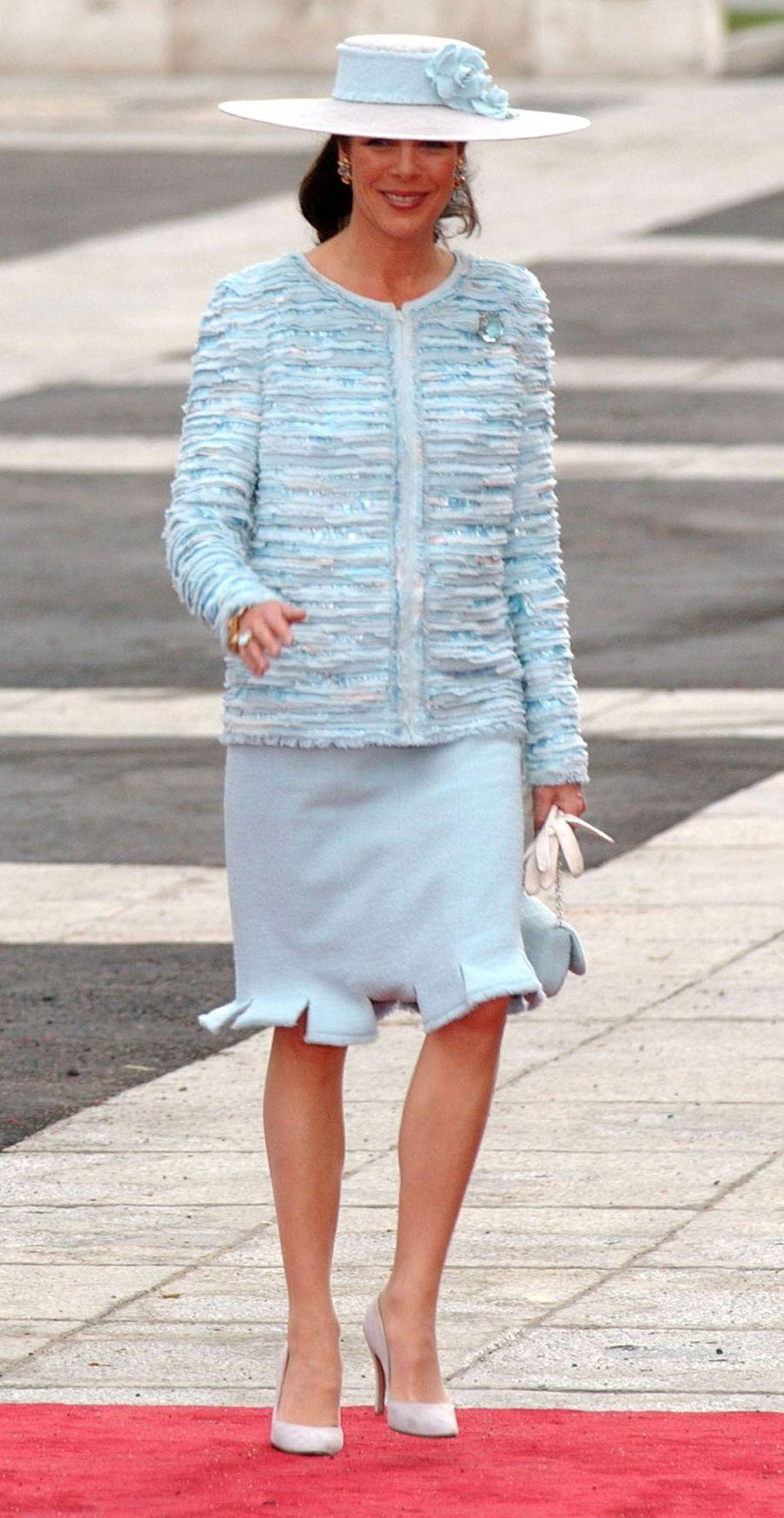 La princesse Caroline de Hanovre à Madrid, le 22 mai 2004