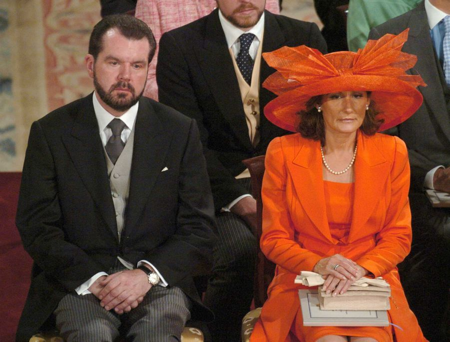 Les parents de Letizia Ortiz à Madrid, le 22 mai 2004