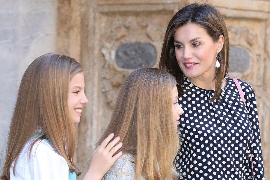 Sofia, Leonor et Letizia d'Espagne